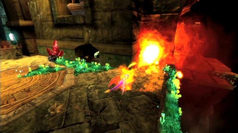 la légende de spyro : la naissance d'un dragon Screen51