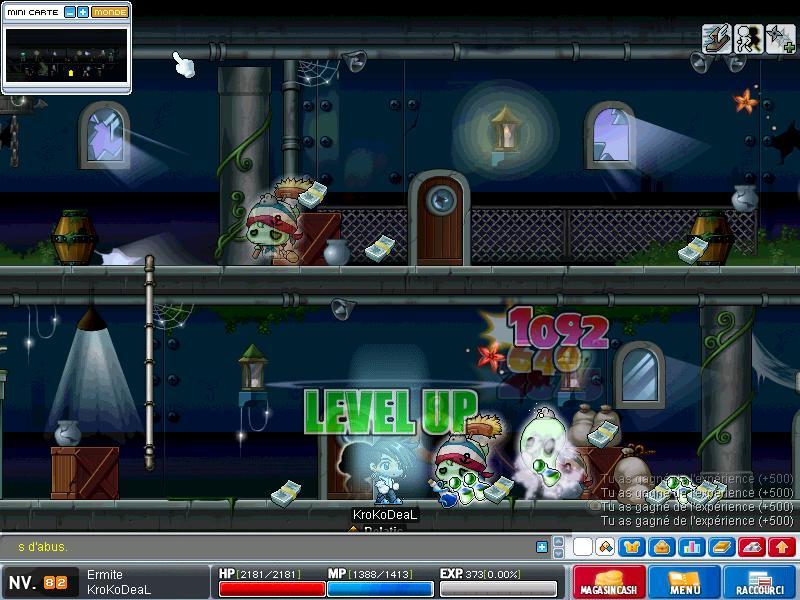 ScreenShot des lvl up - Page 5 Maple011