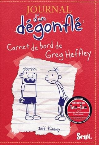 JOURNAL D'UN DEGONFLE (Tome 1) CARNET DE BORD DE GREG HEFFLEY de Jeff Kinney 2210