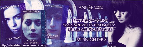 midnighters - MIDNIGHTERS (Tome 1) L'HEURE SECRETE de Scott Westerfeld 24652510