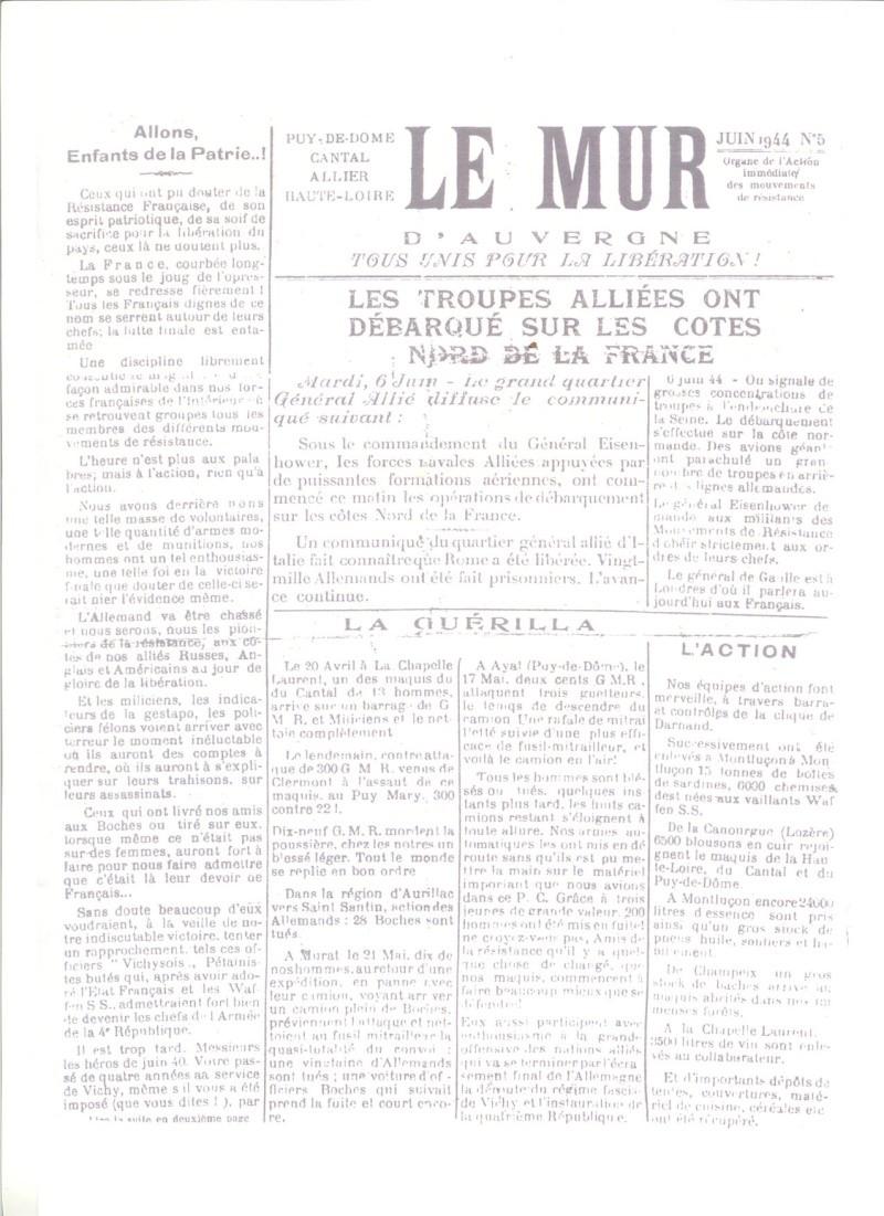 Le MONT-MOUCHET, haut lieu de la Résistance Le_mur20