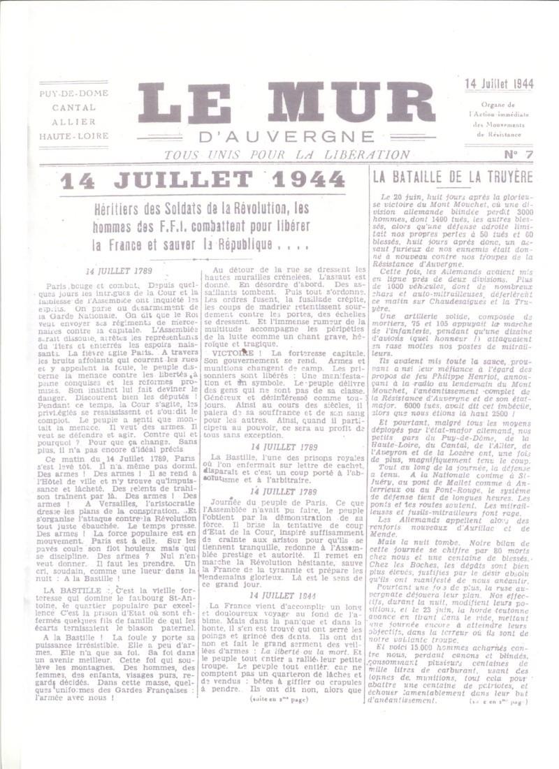 Le MONT-MOUCHET, haut lieu de la Résistance Le_mur24