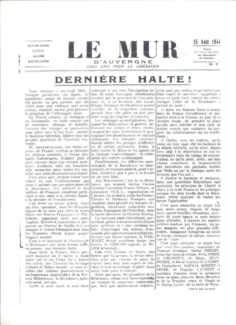 Le MONT-MOUCHET, haut lieu de la Résistance Le_mur28
