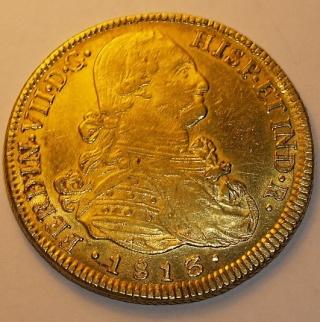 8 Escudos de Fernando VII (Santiago, 1811) _2142727