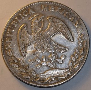 Paraguay, 1 peso, 1889; Mexico, 8 reales, 1877. _2142739