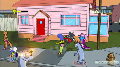The Simpsons Game [All Links HERE!] Simpso10