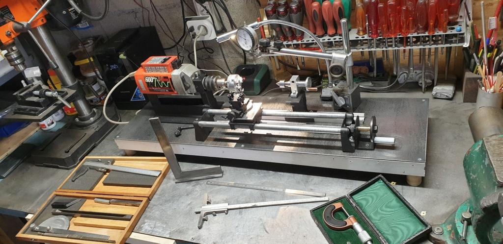 bricolage d'un mini tour d'établi  T510