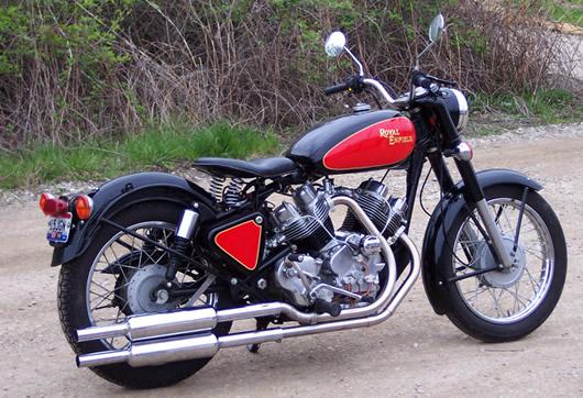 ROYAL ENFIELD Thunderbird 500 Musket10