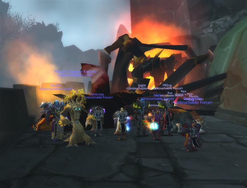 Nightbane down! Groupn10