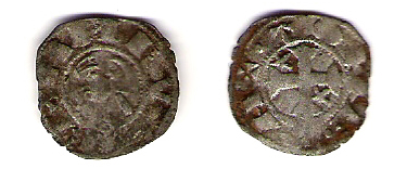 Dinero de Alfonso VIII (Toledo, 1158 – 1214) Dinero10