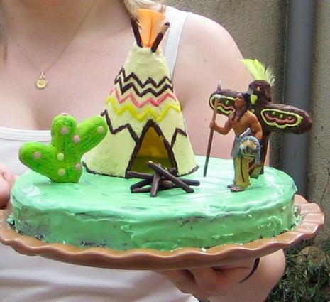 """Gâteau """"Indien d'Amérique"""" 20070610"""
