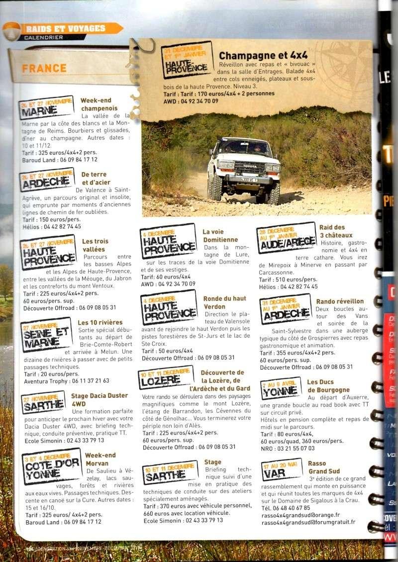 Edition 2012 / GENERATION 4x4 n°37 novembre / décembre 2011 (page 104)  Annonc10