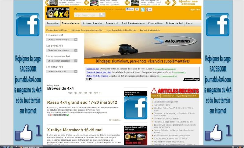 Le Journal du 4x4 [21 mars 2012] Journa12