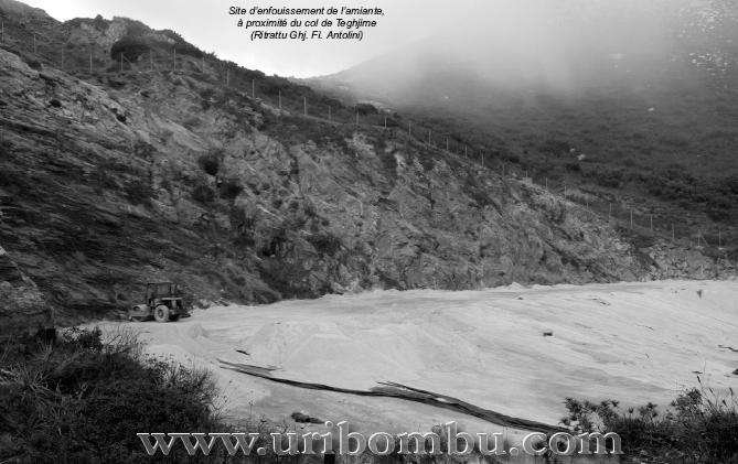 Mine de Canari - Haute Corse - FRANCE Amiant10