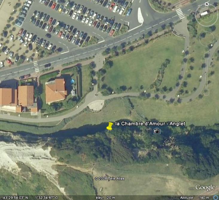 Les grottes du Monde illustrées avec Google Earth - Page 2 Anglet10