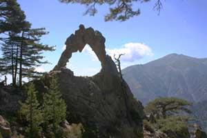Les roches percées Arche110
