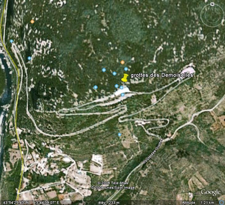Les grottes du Monde illustrées avec Google Earth - Page 2 Dem10