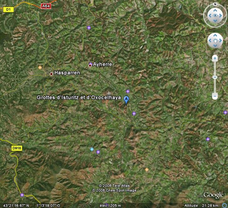 Les grottes du Monde illustrées avec Google Earth - Page 2 Grotte12