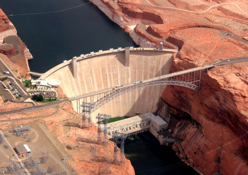 Glen Canyon Bridge, Arizona, USA Pont_b10