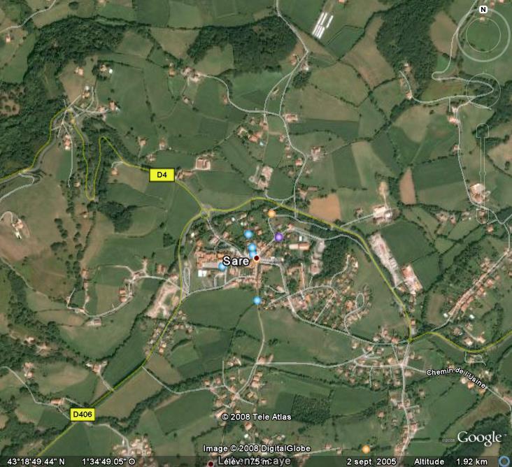 Les grottes du Monde illustrées avec Google Earth - Page 2 Sare10