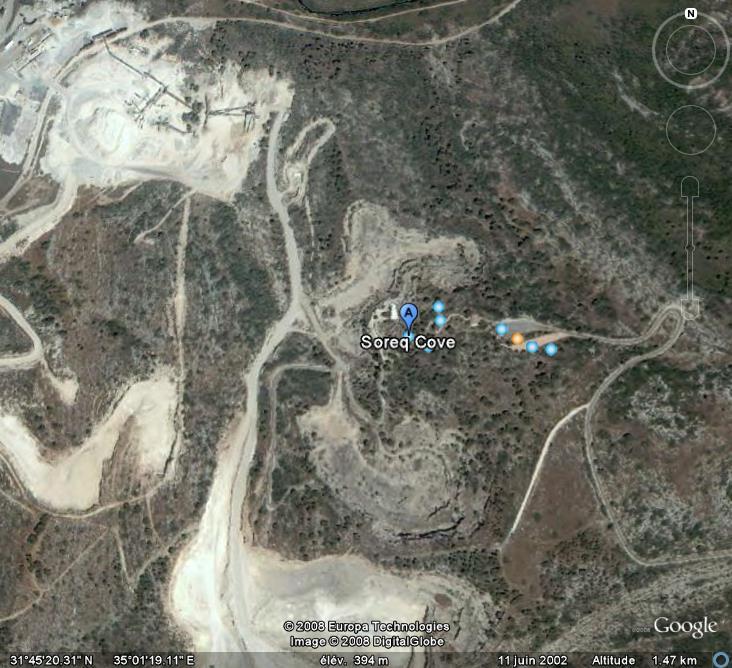 Les grottes du Monde illustrées avec Google Earth - Page 2 Soreq10