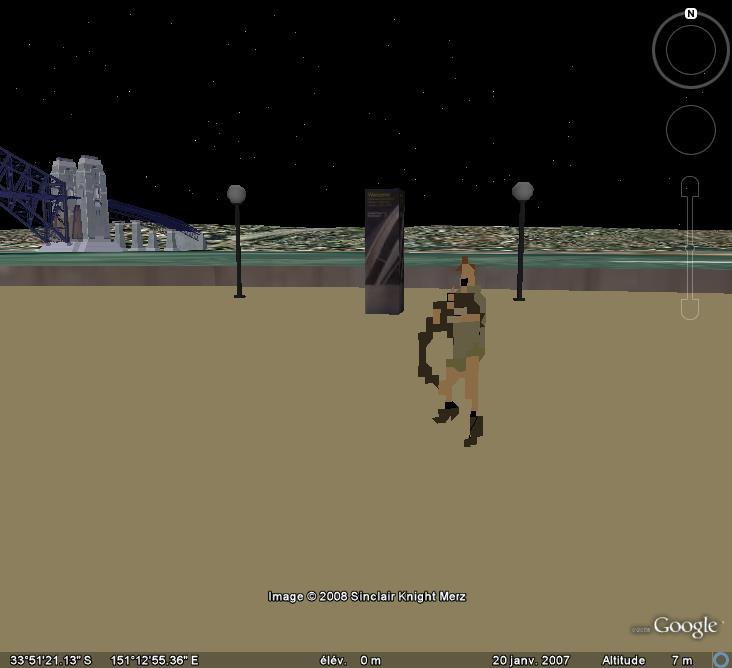 Google Earth en version 3D : les êtres humains modélisés eux-aussi Sydney14
