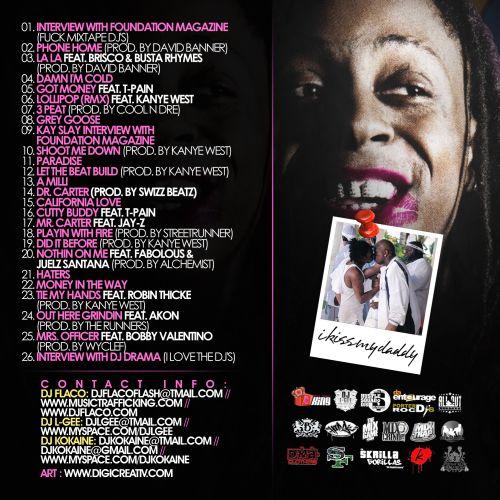 DJ Flaco, DJ L-Gee & DJ Kokaine - Lil Wayne: Damn, DJ's Leaked My Shit (The Story Of Baby's Baby) Lilway11