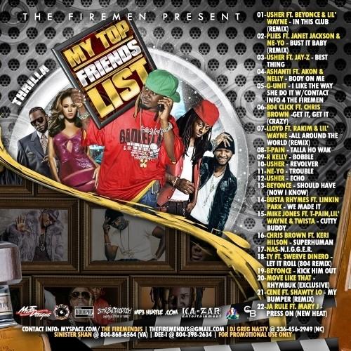 THE FIREMEN PRESENT THRILLA - MY TOP FRIENDS LIST The_fi10