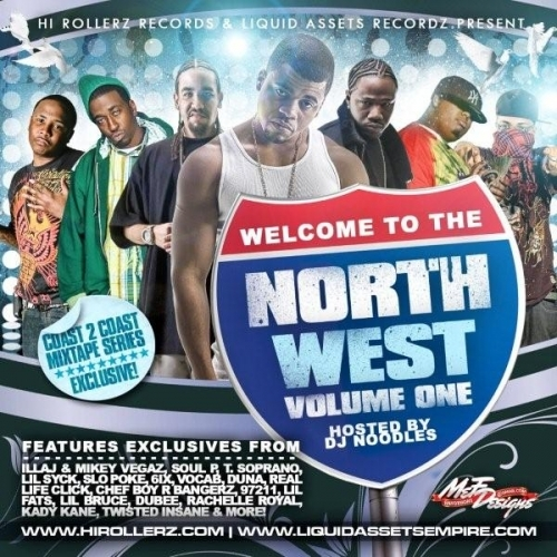 WELCOME TO THE NORTHWEST VOL.1(HOSTED BY DJ NOODLES) Welcom10