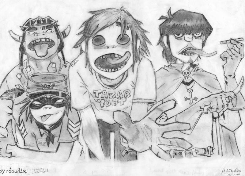 Gorillaz by Bleeda Img00113