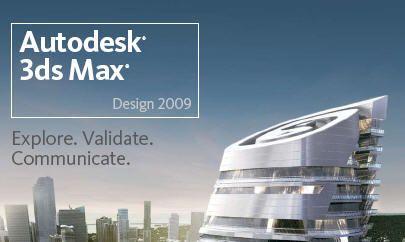 3D Studio Max 2009 أقوي برنامج لإنشاء الصور والأفلام ثلاثية الابعاد Autode10