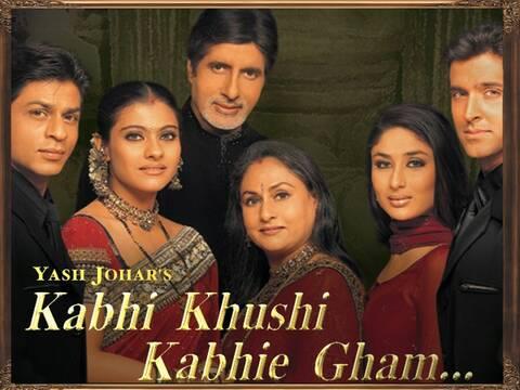 فيلم Kabhi Khushi Kabhie Gham لريتك روشان وشاروخان مترجم