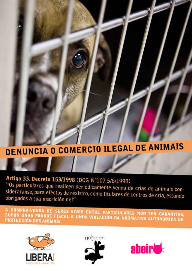 Campaña contra la venta ilegal de animales Cartel12