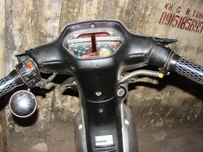 xe máy chế Dauxe110