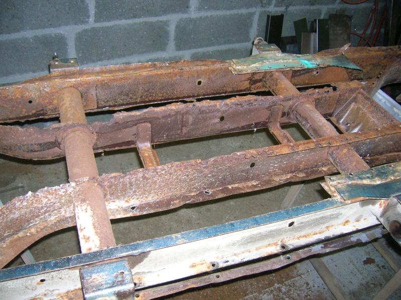 resto chassis 2cv Dscn2812