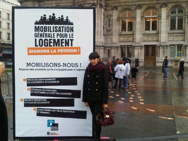 Journées de Mobilisation générale pour le logement 17, 18 et 19 Nov à l'Hôtel de Ville de Paris  12314510