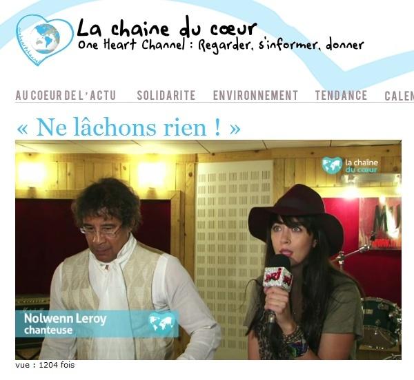 La Chaine du Coeur - Répétitions du Concert du 17 Octobre au Bataclan  138