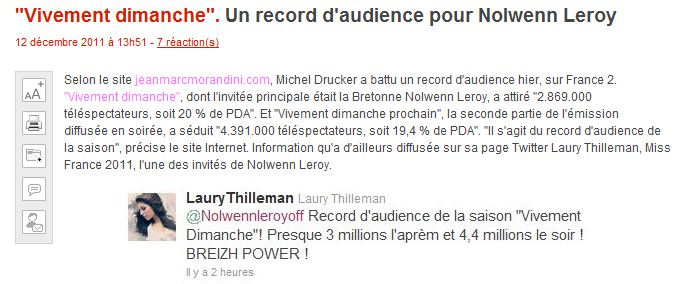 {TV} France 2 - Vivement Dimanche spécial Bretagne - 11 Décembre 2011 - Page 2 189