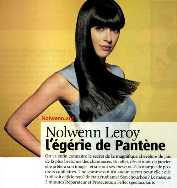 Nolwenn Leroy, Nouvelle égérie Pantène  1_bmp102