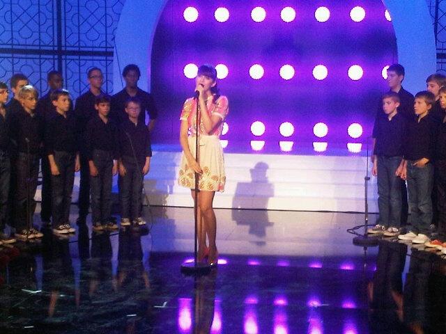 {TV} Les Petits Chanteurs de la Croix de bois - Enregistrement le 23/11  1_bmp41