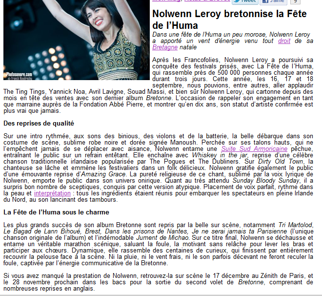 {Concert} Fête de l'Humanité 2011 les 16, 17, 18 Septembre   - Page 2 229