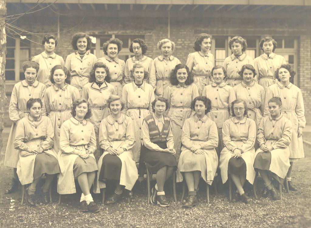 lycée de jeunes fille au havre de 1948-1951 Moniqu10