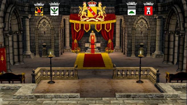 Allégeances  à La duchesse Casandre_Louna Avril/Mai 1460 Salle_22