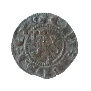 Dinero Novén de Enrique III, de la ceca de Sevilla P6030111