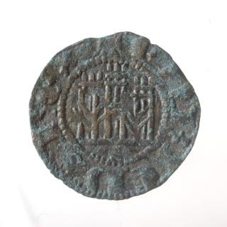 Dinero Novén de Enrique III, de la ceca de Sevilla P6030112