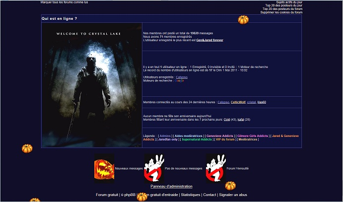 Les anciens designs du forum - Page 2 Hallow22