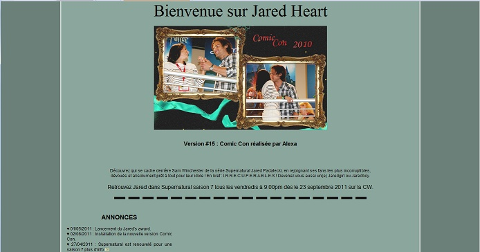 Les anciens designs du forum Jared210