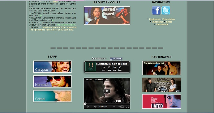 Les anciens designs du forum Jared310