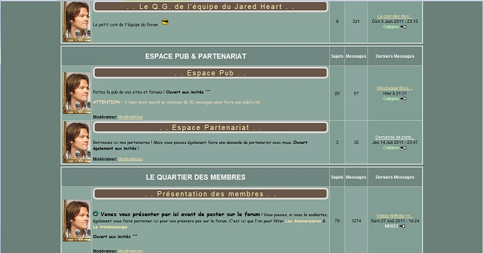Les anciens designs du forum Jared510