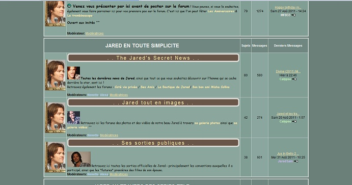 Les anciens designs du forum Jared610
